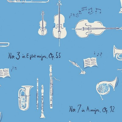 Art gallery fabrics Sinfonie in Danube