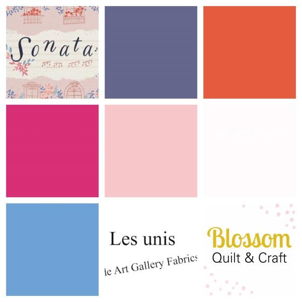 Art gallery Fabrics Unis Sonata