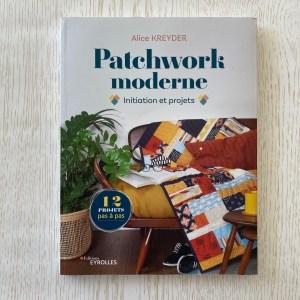 Patchwork Moderne Alice Kreyder Livre