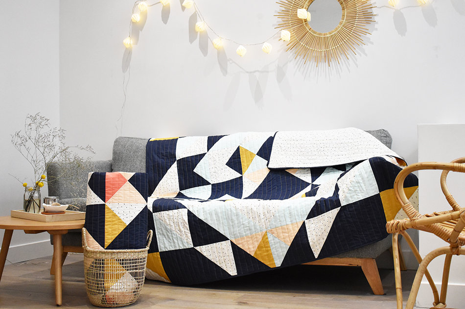 Livre patchwork moderne