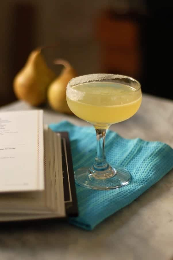 The Perfect Pear (Pear Brandy Cocktail) #thirstythursdays