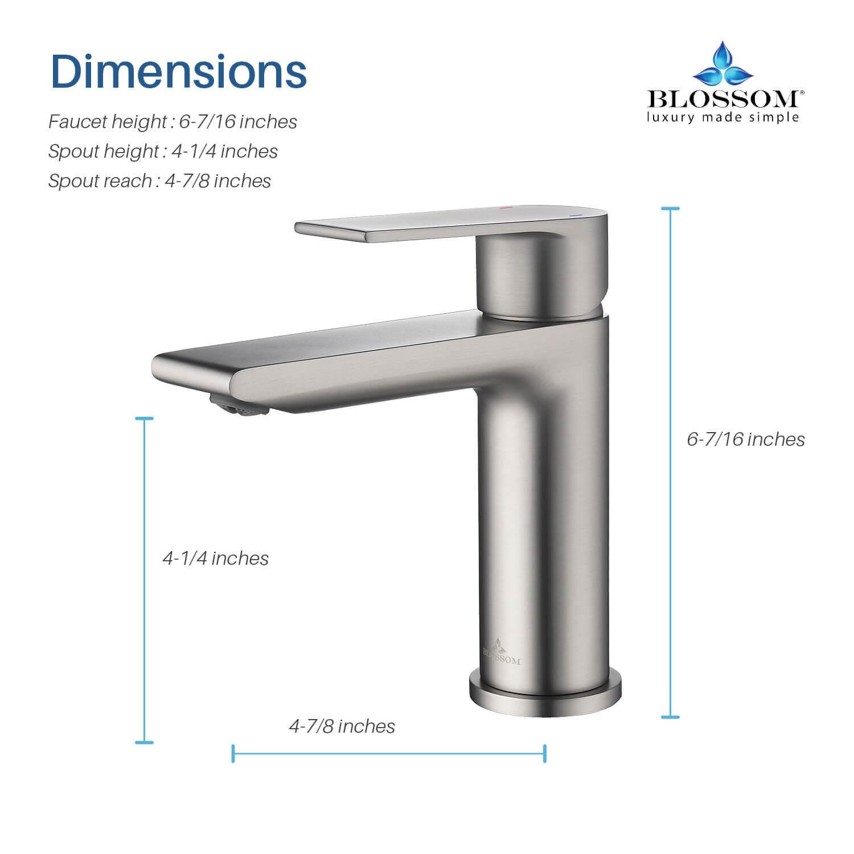 single handle lavatory faucet f01 102