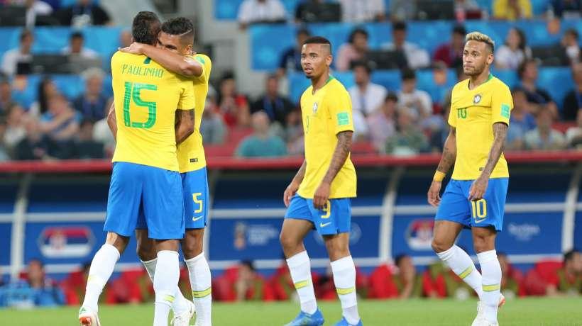 Le Brésil s'envole pour les quarts de finale
