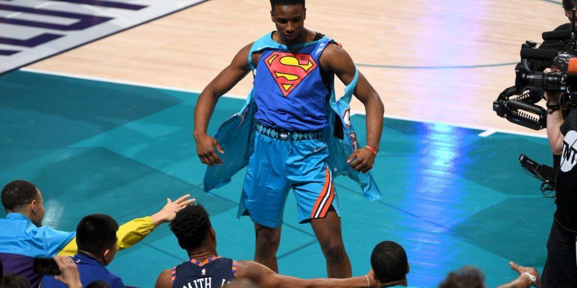 Hamidou Diallo dunk contest