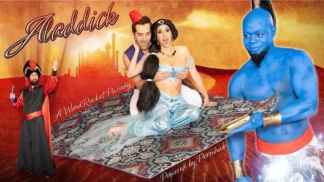 Une parodie porno d'Aladdin est sortie
