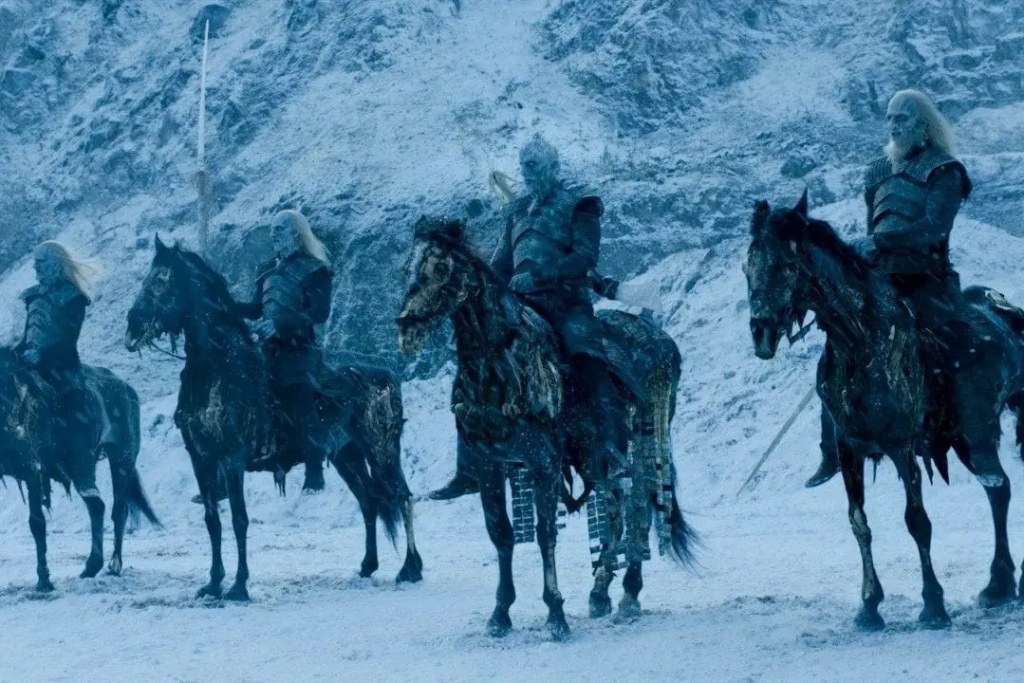 Retour des Marcheurs des Blancs dans la fin de Game of Thrones ?