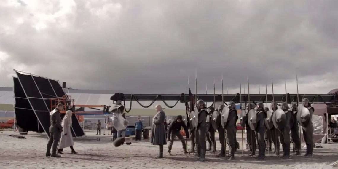 """Les coulisses de """"The Last of the Starks"""" dévoilés par HBO"""