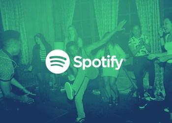 La plateforme de streaming musical Spotify organise des concerts