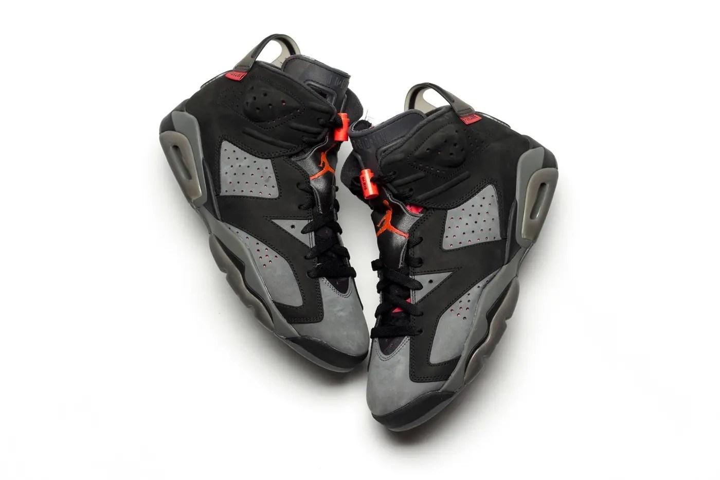PSG x Air Jordan 6 : la paire serait disponible en juillet.