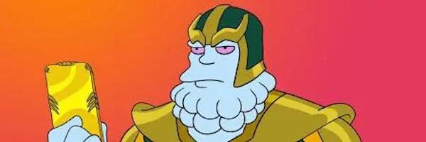 Les simpsons taclent le MCU, Thanos et les spoileurs dans un épisode