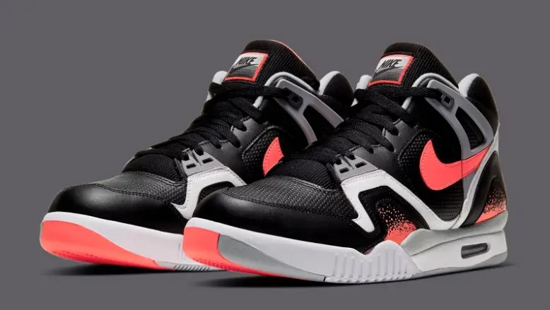 Nike Air Tech Challenge II Black Lava 1