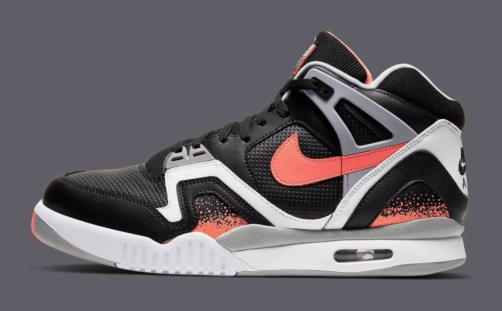Nike Air Tech Challenge II Black Lava 2