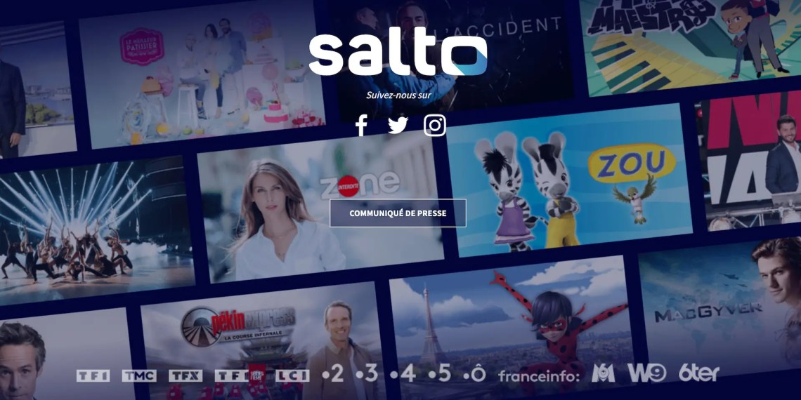 Salto, la plateforme de VOD made in France !