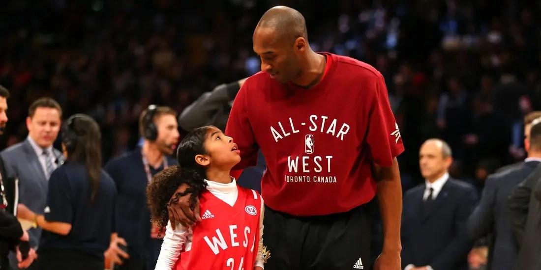 Kobe Bryant et sa fille