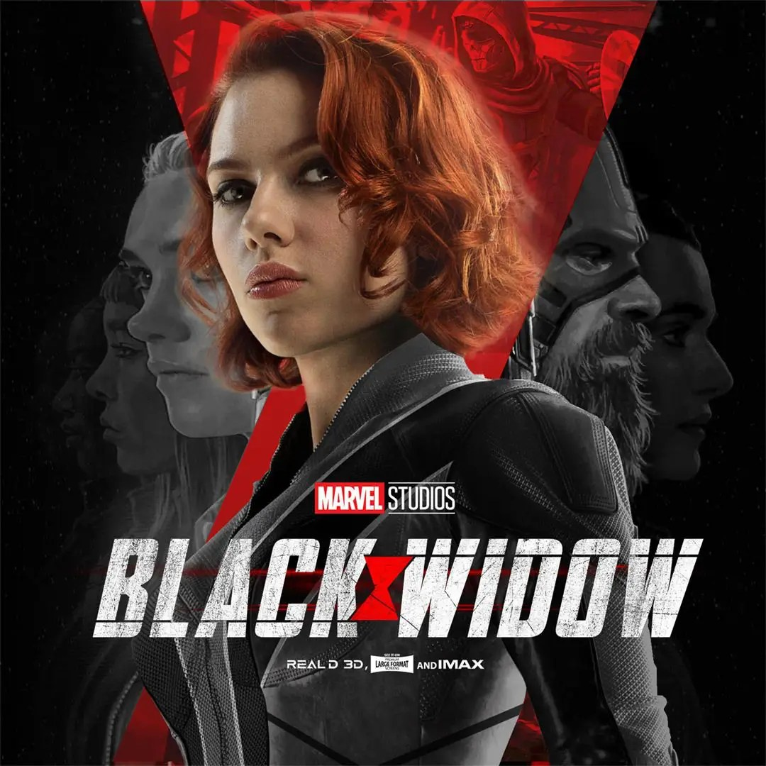Taskmaster au centre de la nouvelle bande-annonce (affiche) — Black Widow