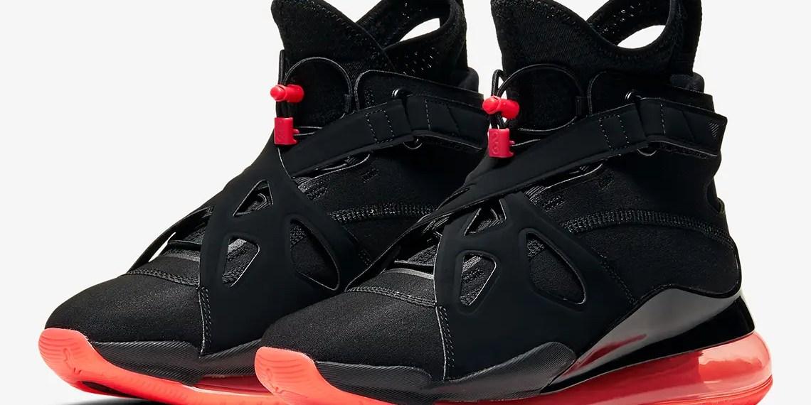 La marque Jordan, bien que moins fréquente, s'intéresse à son côté expérimental comme le reste du panel Nike,