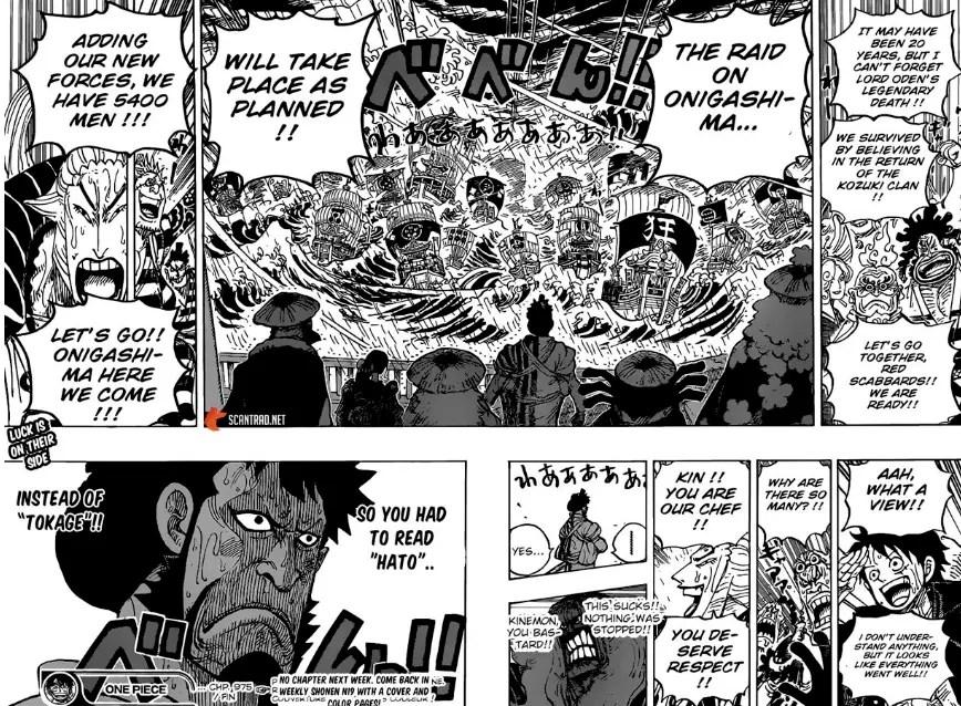 One Piece Chapitre 976 : Date de sortie, spoilers et récapitulatif