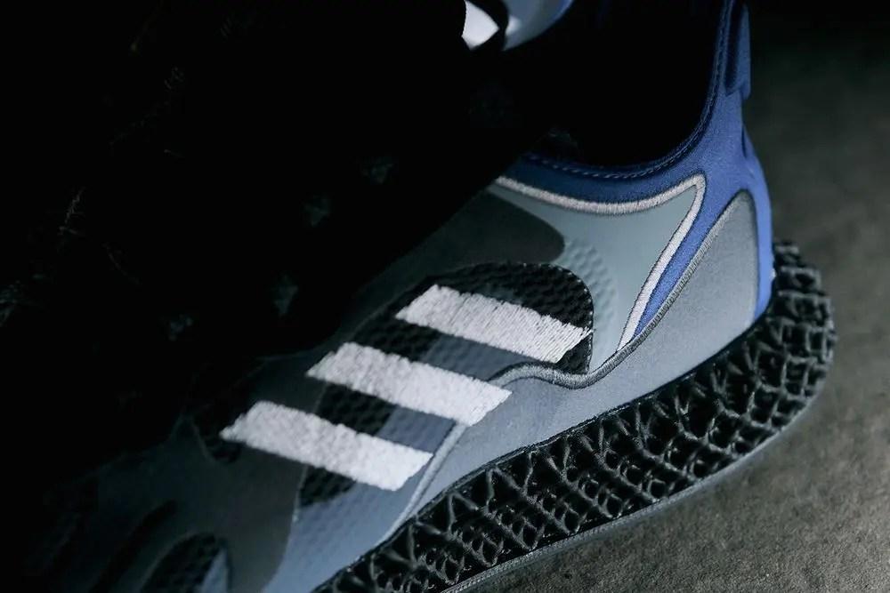 Zoom sur le projet Adidas Consortium EVO 4D F&F   pour la Fashion Week