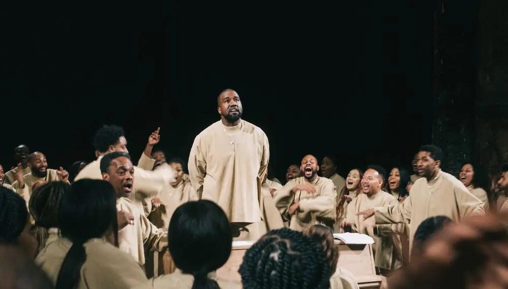 Retour sur le Sunday Service de Kanye West à Paris