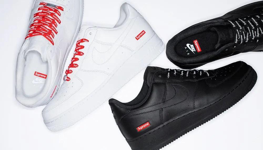 La Supreme x Nike Air Force 1 Low Drop cette semaine !