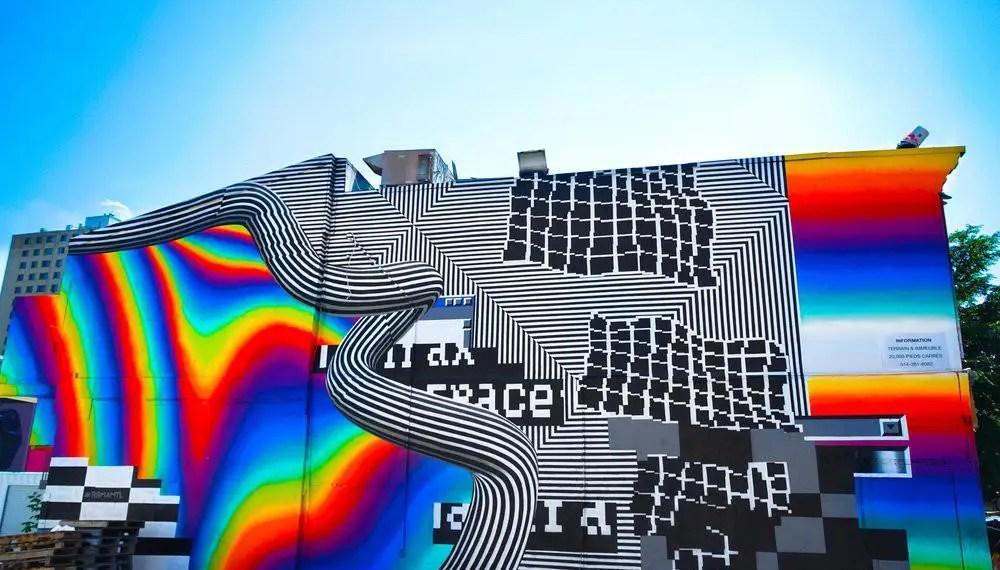 Felipe Pantone présente 10 faits sur la peinture au pistolet en réalité virtuelle