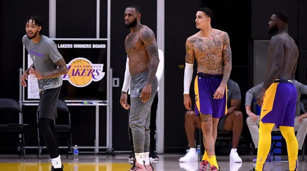 Entrainement NBA