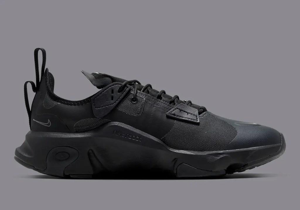 """Aperçu des Nike React GORE-TEX """"Triple Black"""""""
