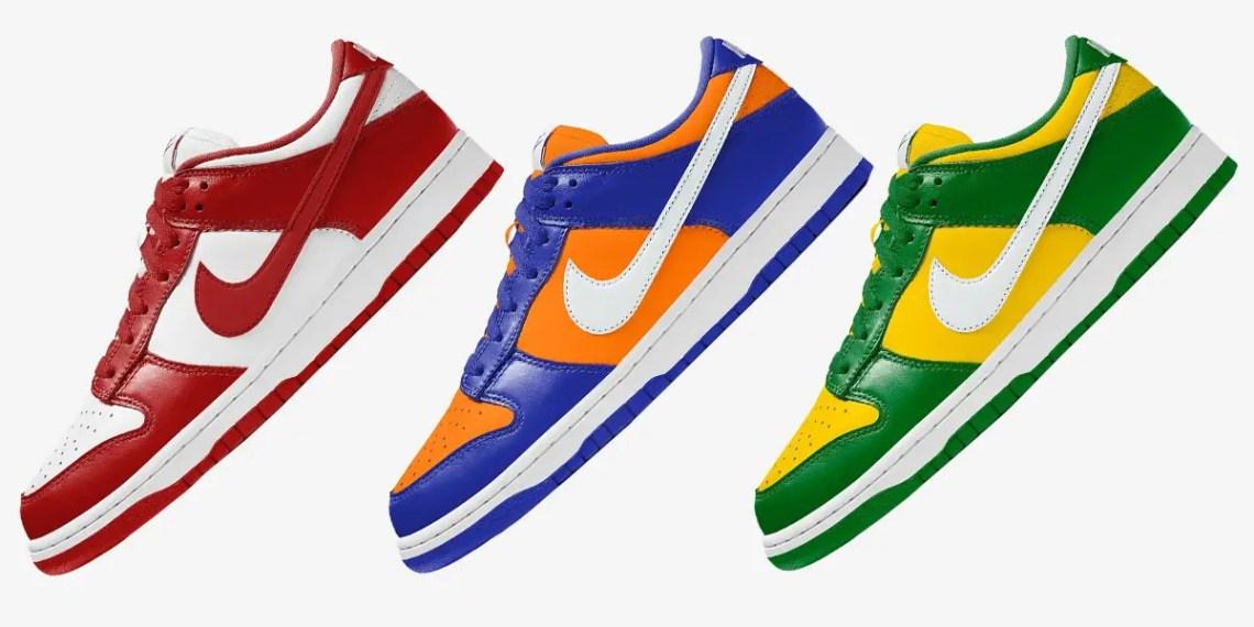 D'autres Colorways Nike Dunk Low arrivent bientôt