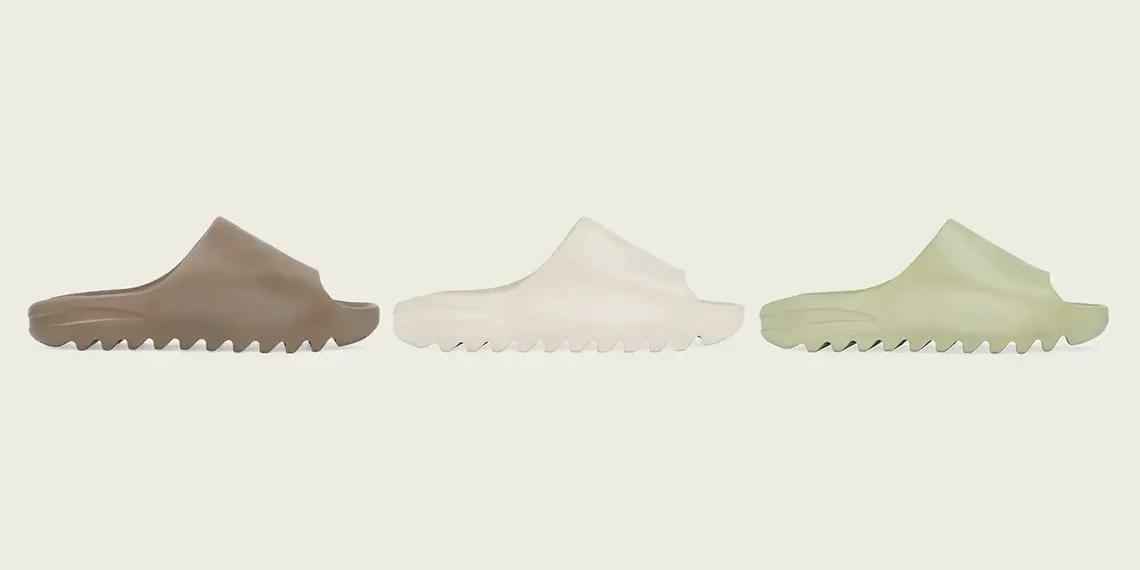 Les claquettes Yeezy Slides seront disponibles le 16 avril