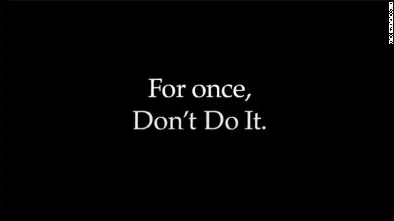 """Nike prend position avec """"DON'T DO IT"""" sa campagne contre le racisme"""