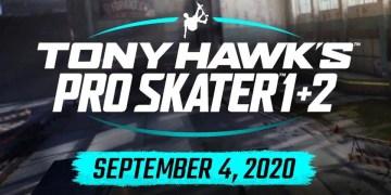 Tony Hawk's Pro Skater 1 & 2 remastérisé pour septembre !