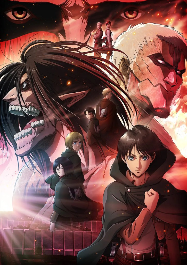 Shingeki no Kyojin / L'attaque des Titans : Trailer saison 4