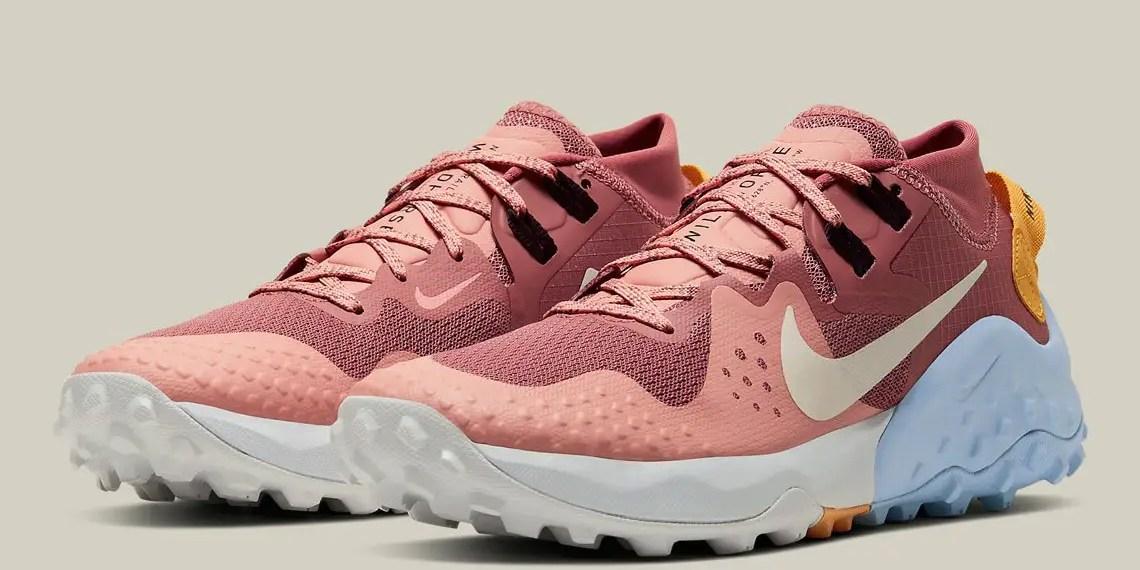 Nike dévoile sa collection Trail en «Pink Quartz»