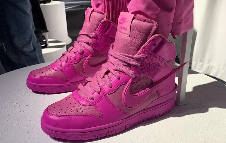 2 nouveaux colorways pour la AMBUSH x Nike Dunk