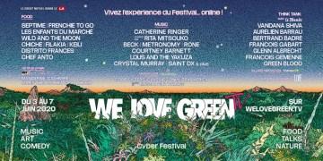 We Love Green : Le festival 2020 va être 100% online !