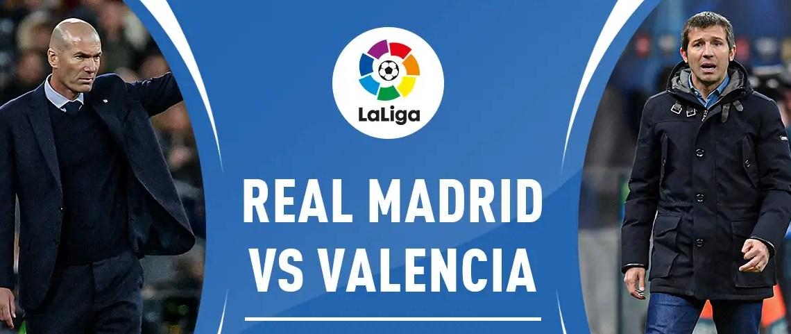 Regarder Real Madrid contre Valence en live streaming