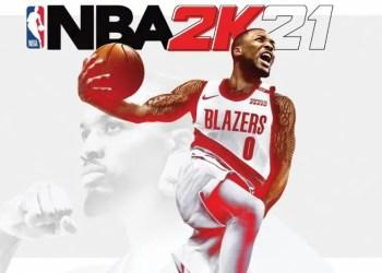 Damian Lillard des Blazers, star de la couverture de NBA 2K21