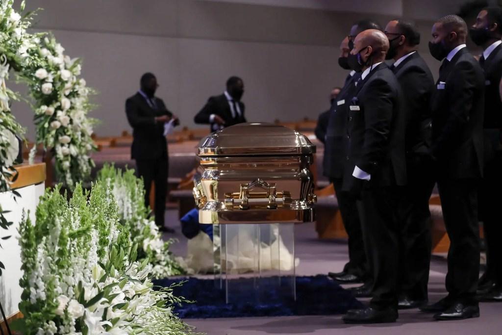 L'enterrement de George Floyd En Live Streaming