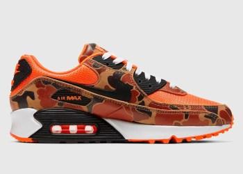 "La Nike Air Max 90 ""Orange Camo"" se dévoile"