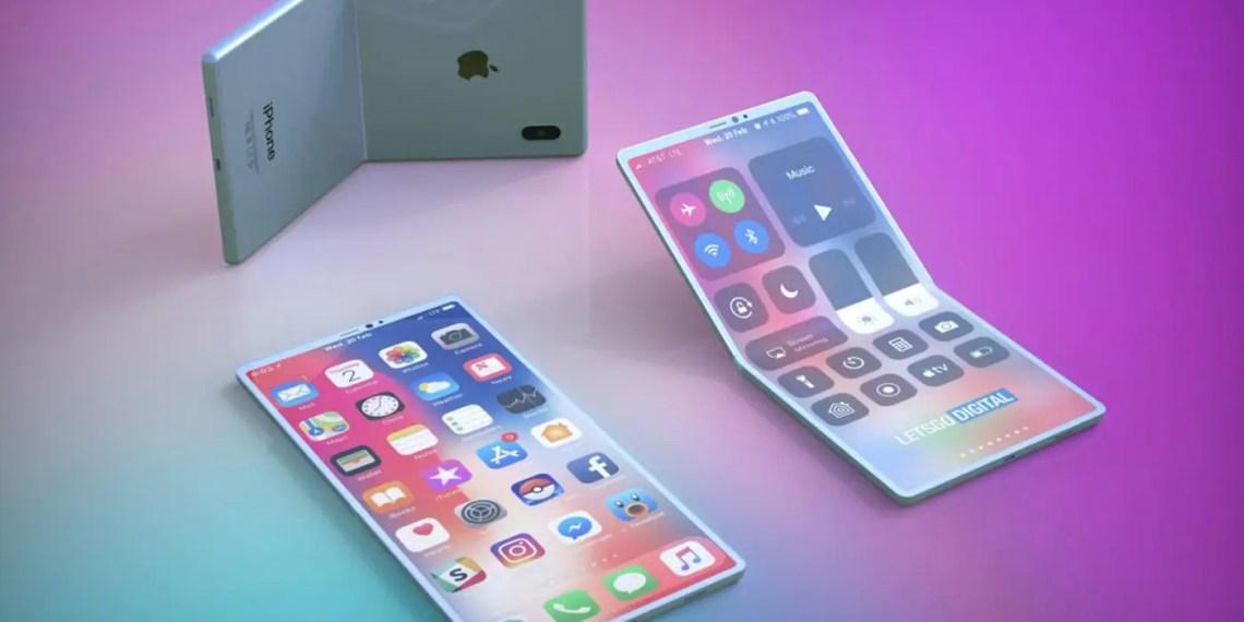 Apple se laisse séduire par les smartphones pliables?