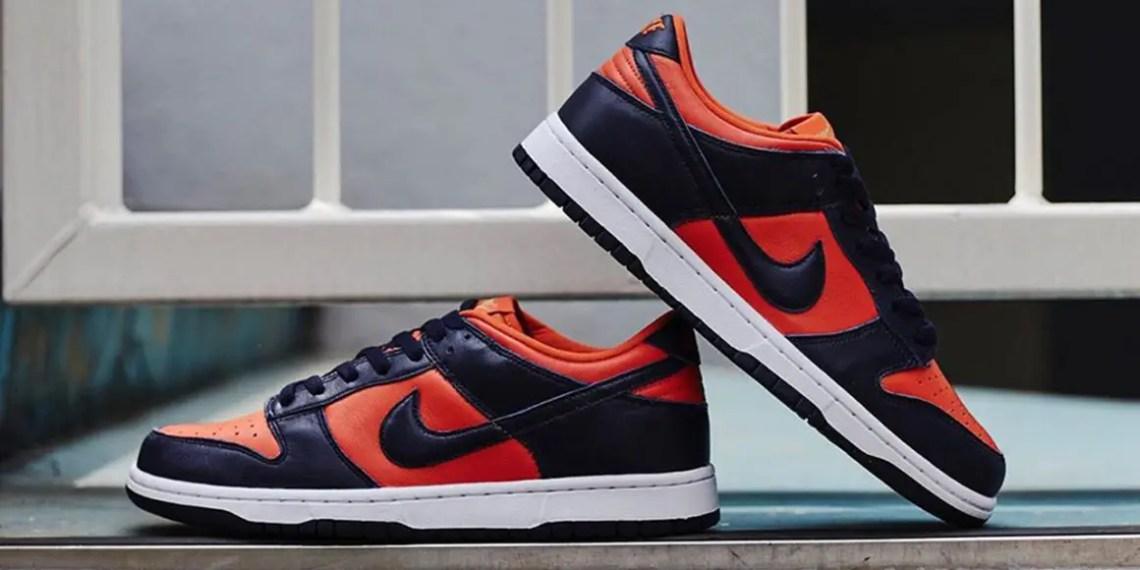 Une nouvelle paire de Nike Dunk Low « Champ Colors »