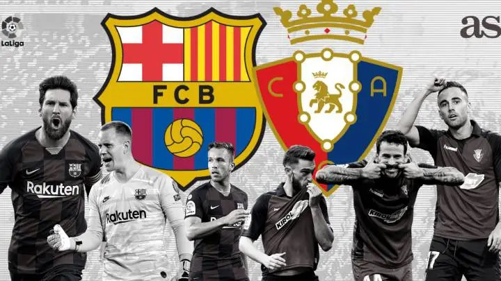 Regarder FC Barcelone vs Osasuna en live streaming gratuit