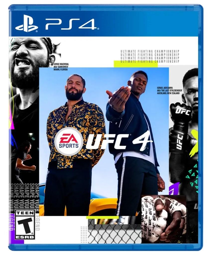 EA sports dévoile la couverture et un extrait du jeu UFC4