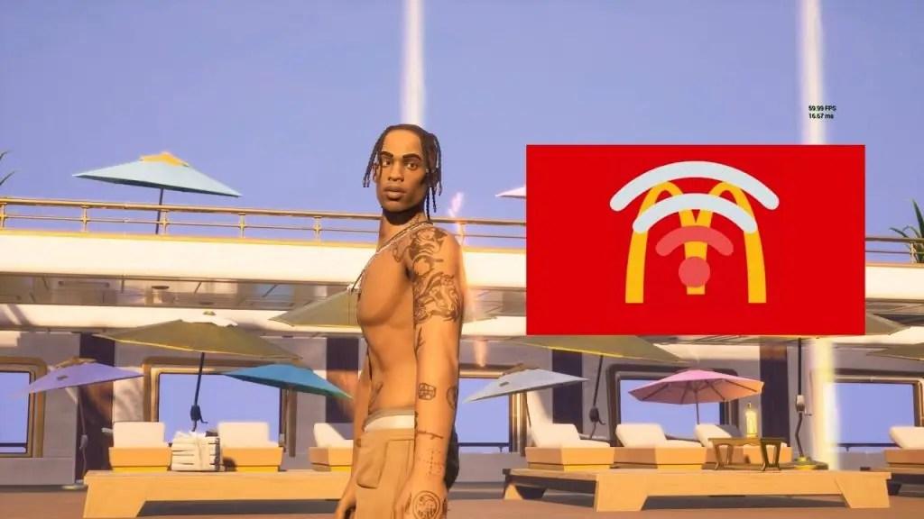 Travis Scott & McDonald's la Collab confirmés dans un leak d'une note de service