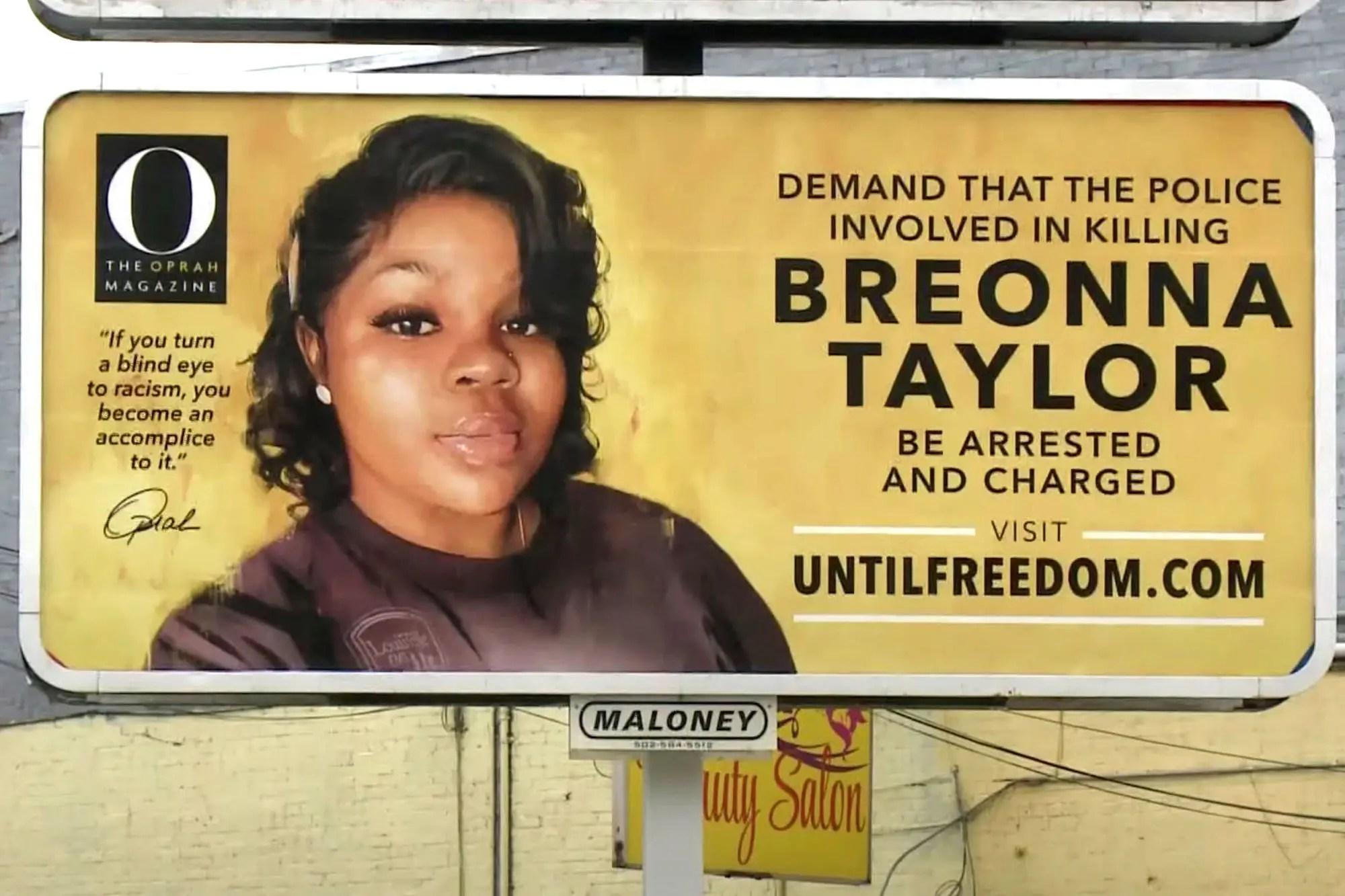 Breonna Taylor : un policier poursuivi… mais pas pour homicide