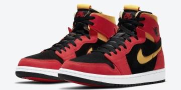 """Découvrez la Air Jordan 1 Zoom CMFT """"Chile Red"""""""