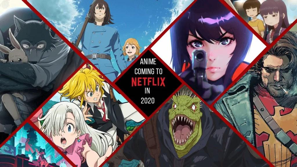 Netlifx signe un contrat avec plusieurs studio d'anime