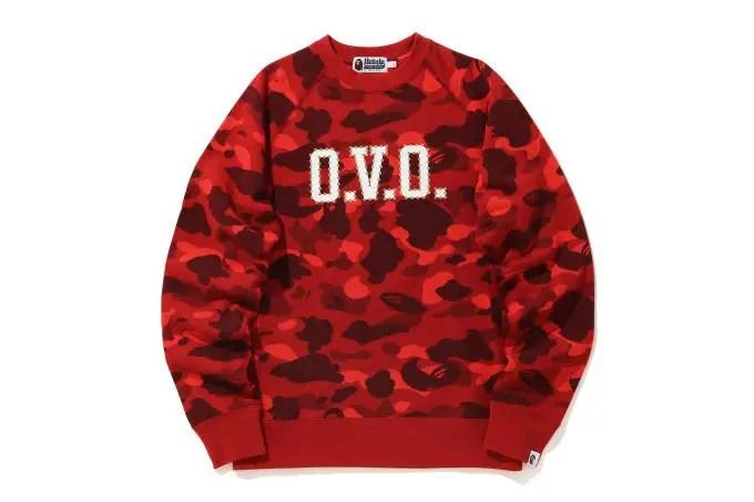 On connait la date de sortie de la collection OVO x BAPE de Drake