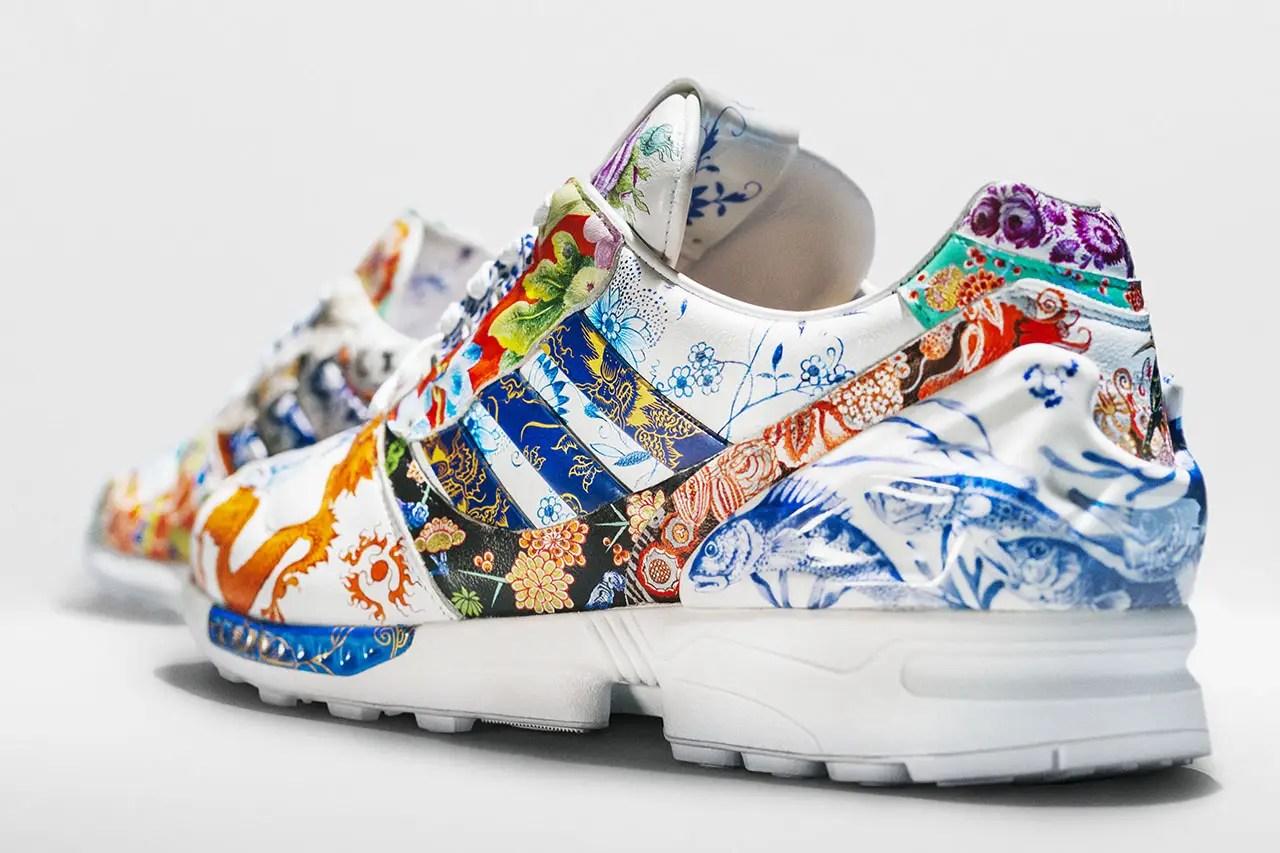 adidas engage le fabricant de porcelaine Meissen pour une Collab sur sa ZX 10000