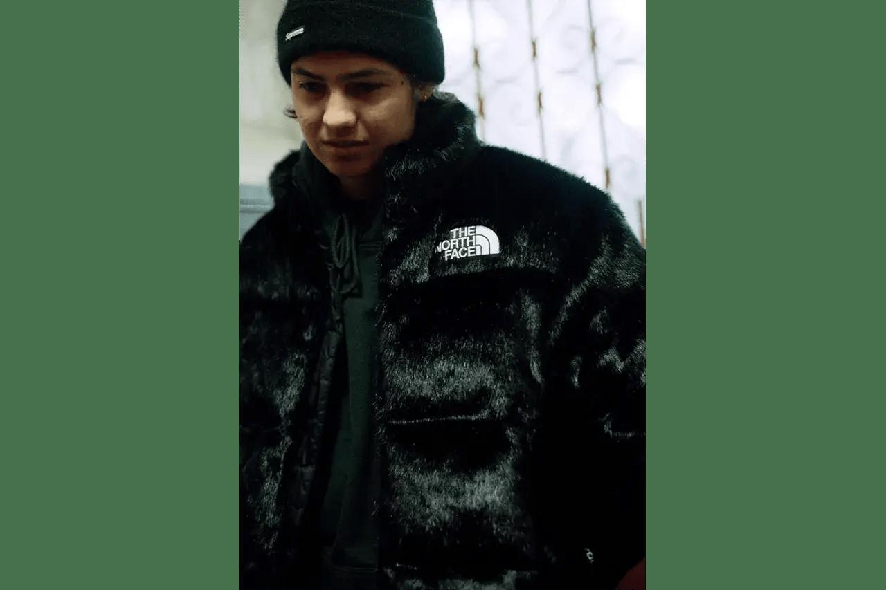 Supreme x The North Face FW20 Collection avec de la fausse fourrure